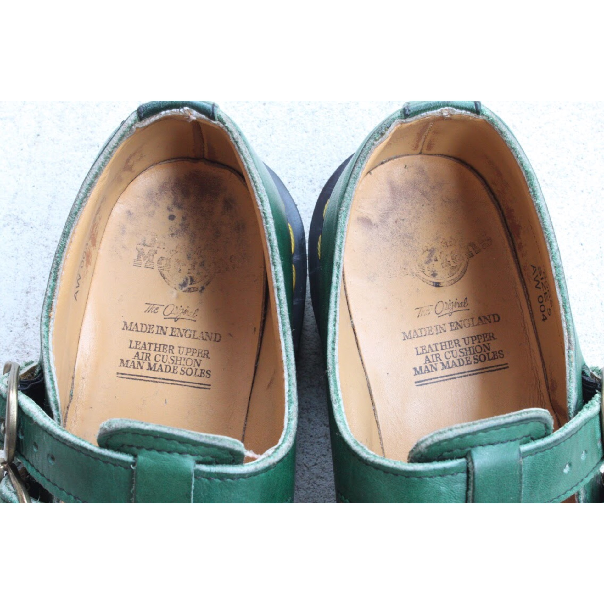 Dr. Martins strap shoes Made in England Size 5