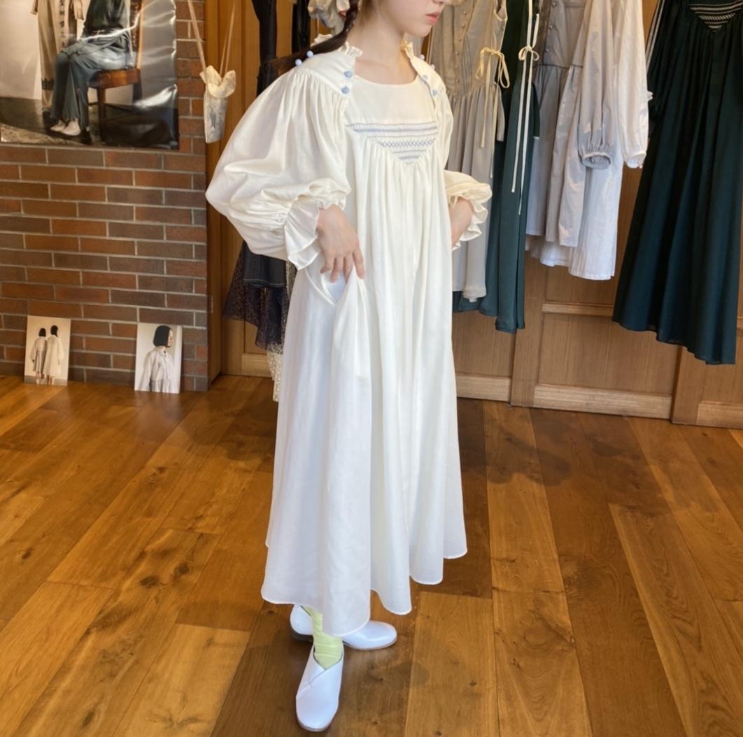 【受注生産・2月下旬〜4月頃お届け】Changeable sleeve dress