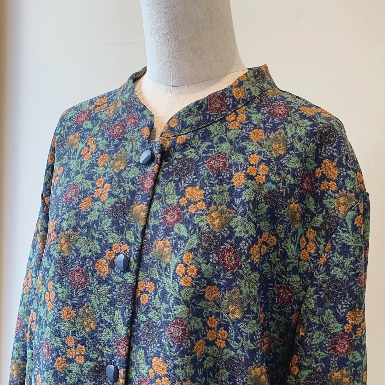 vintage flower design shirts