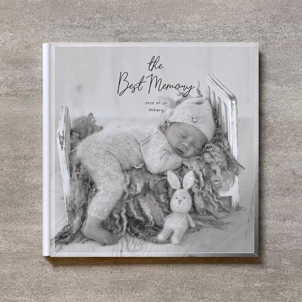 Monochrome-BABY_A4スクエア_6ページ/6カット_クラシックアルバム(アクリルカバー)