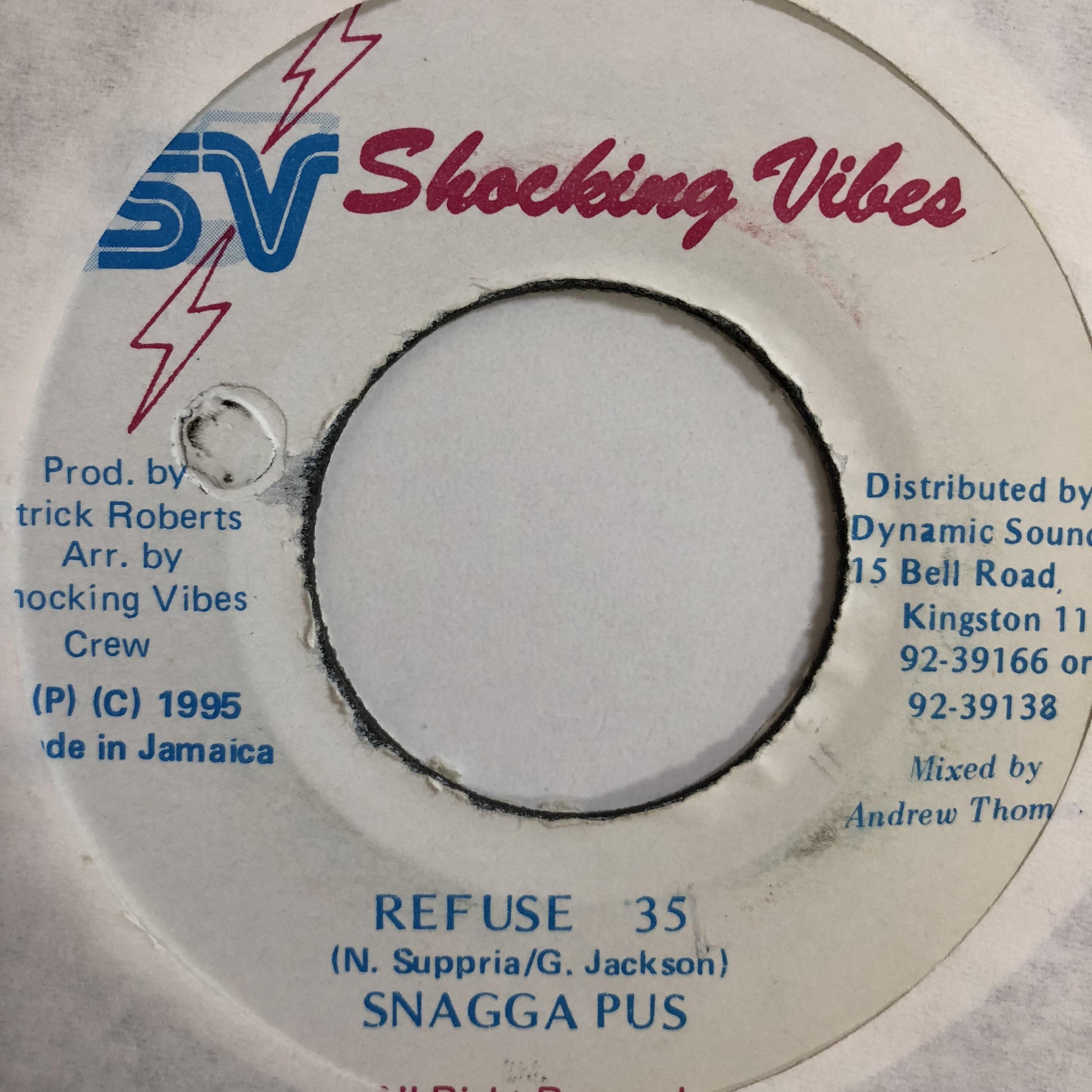 Snagga Puss(スナガプス) - Refuse 35【7-10744】
