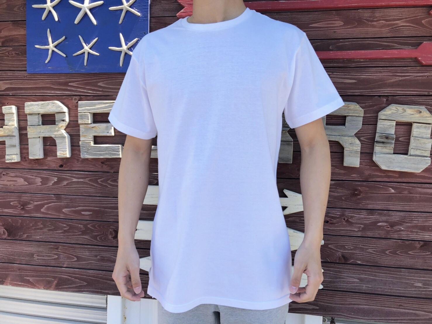 ThreeArrows ロングスリーブ Tシャツ(white)