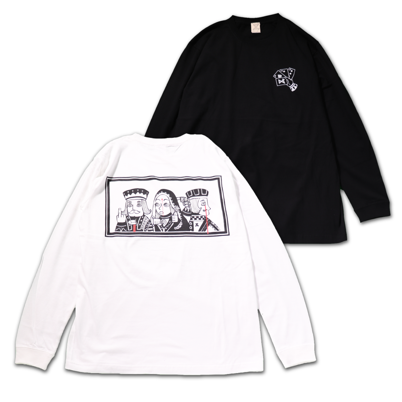Black Jack Long Tshirts