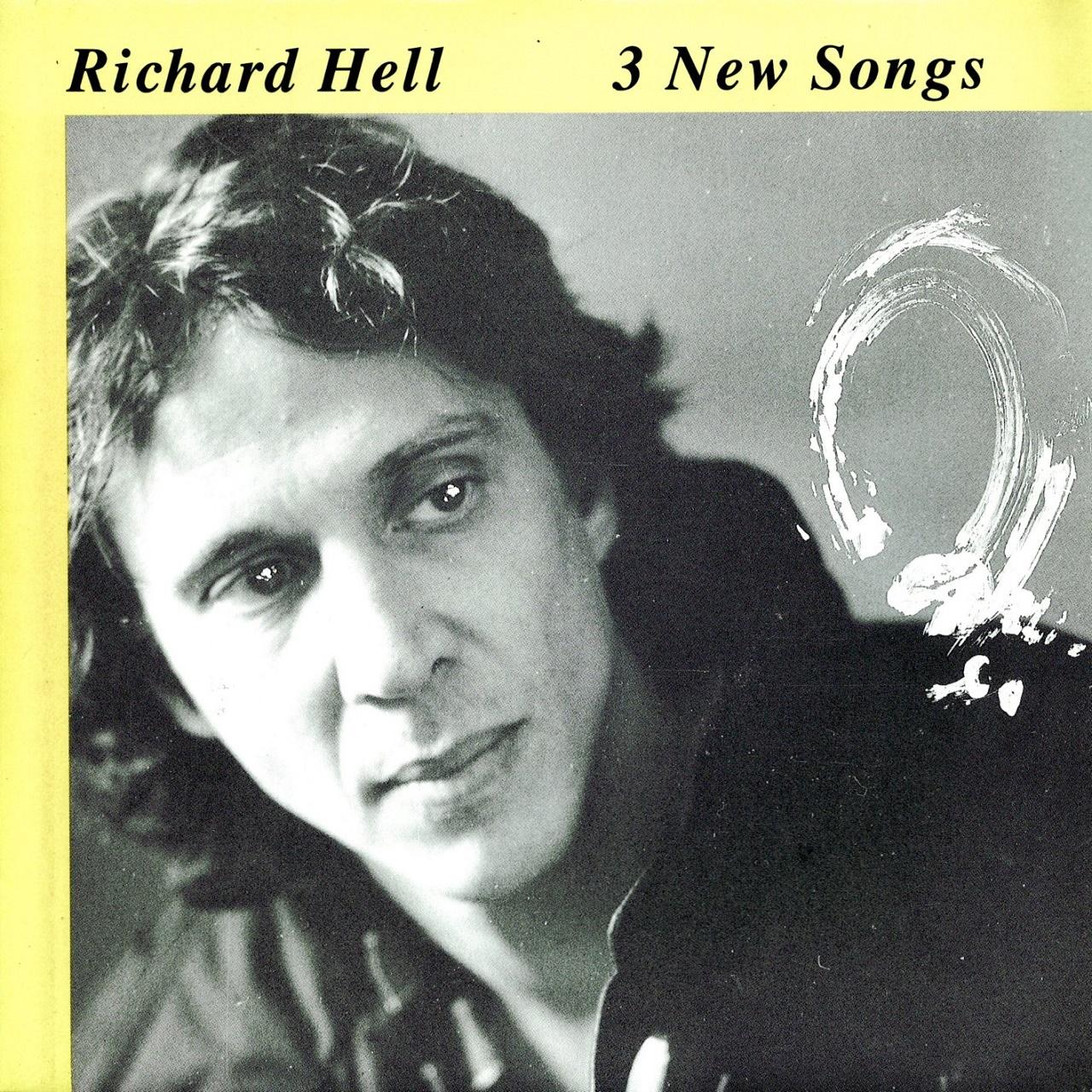 【7inch・英盤】Richard Hell  /  3 New Songs