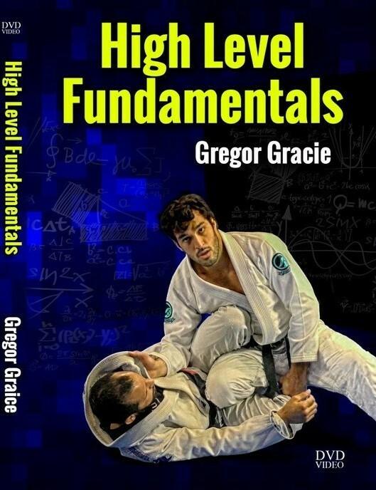 ハイレベル ファンダメンタルズ グレゴー・グレイシー DVD4枚セット|ブラジリアン柔術教則DVD