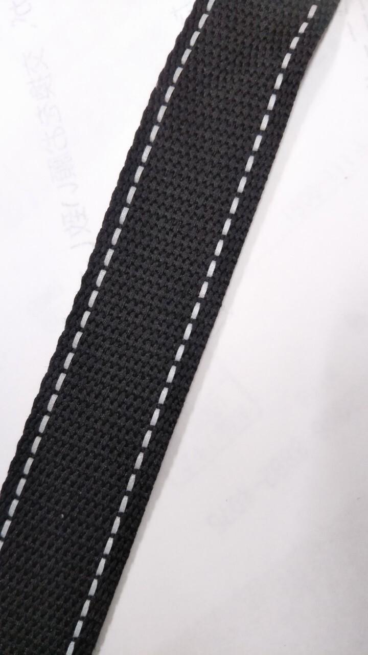 反射テープ 20㎜幅 ポリエステル 黒 50m巻
