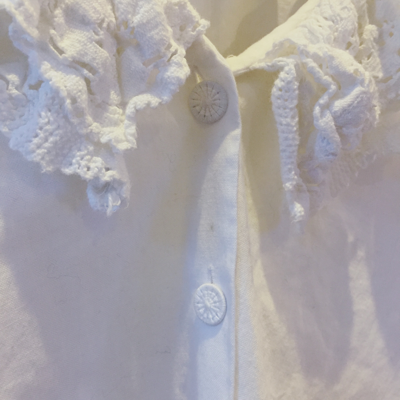 vintage cotton blouse