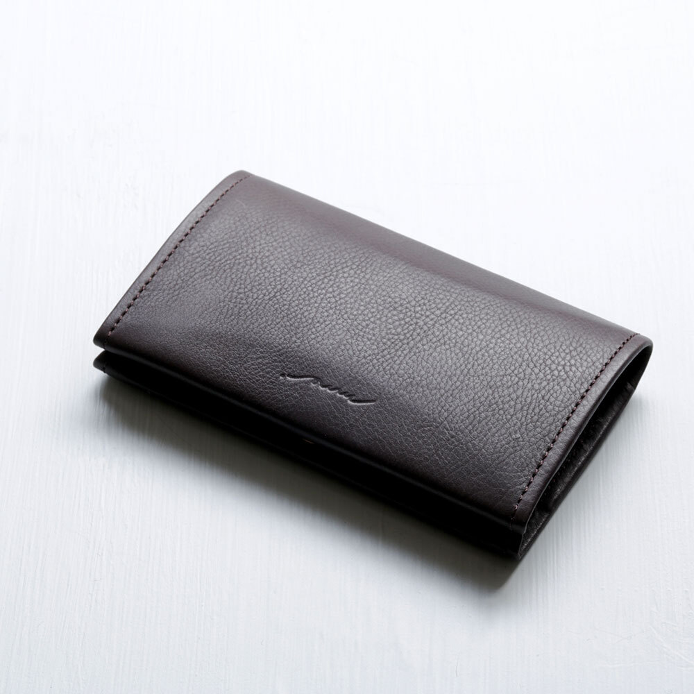 card case (dark brown)