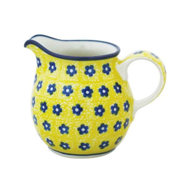 ミルクピッチャー /Milk pitcher ポーランド陶器 Polish pottery