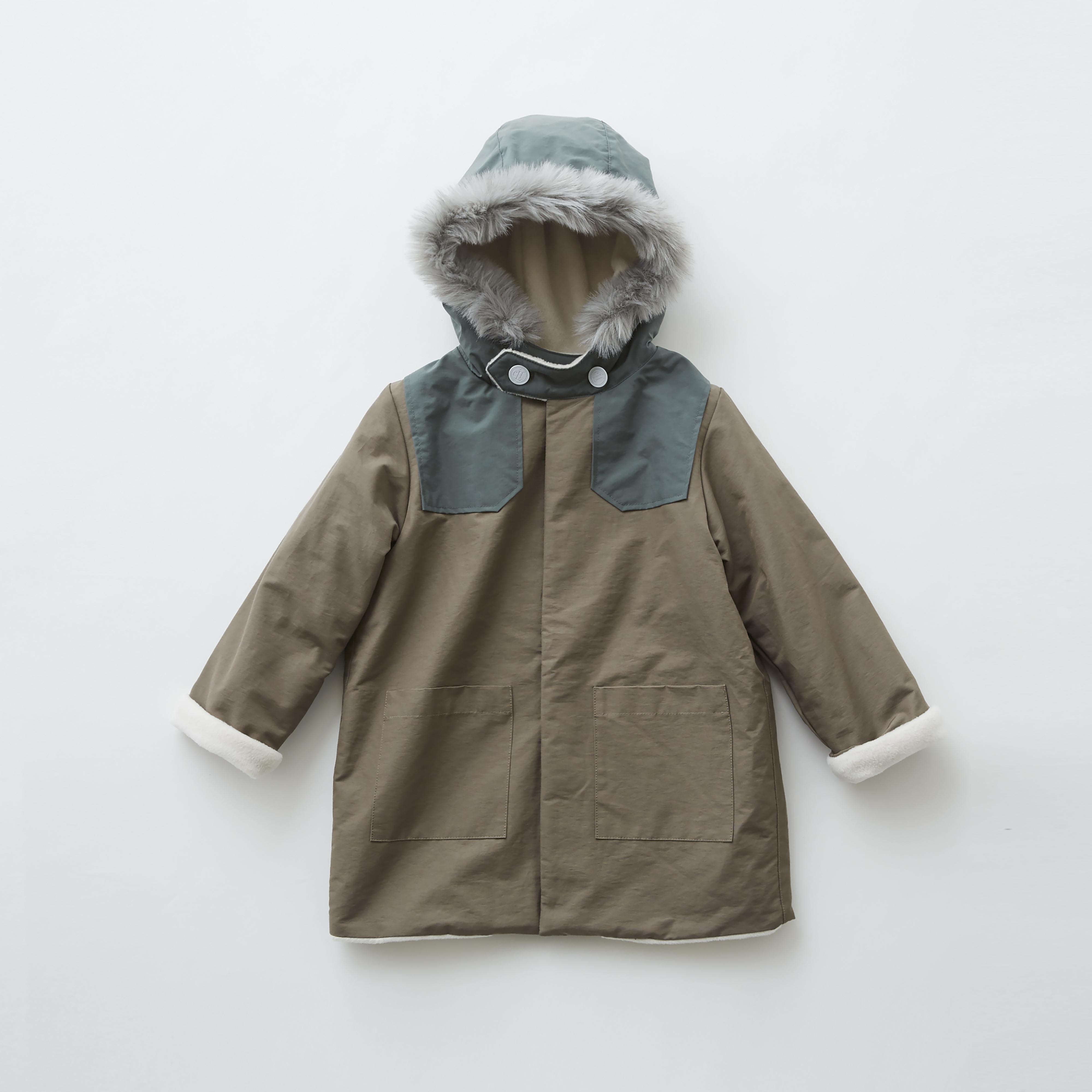 《eLfinFolk 2019AW》high lander coat / mocha / 130cm