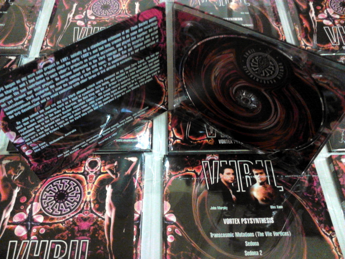 Vhril - Vortex Psysynthesis CD - 画像2