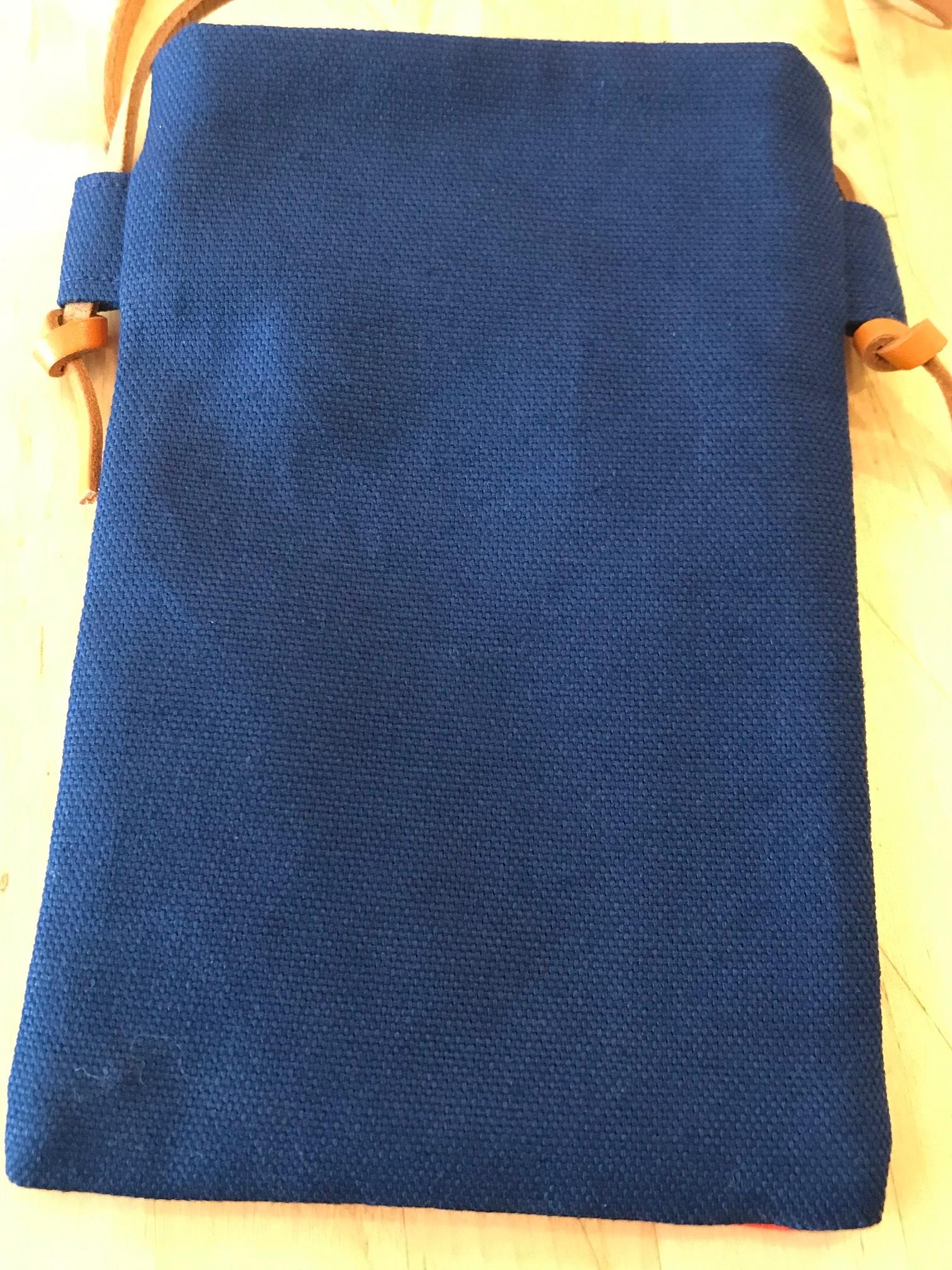 なるま携帯ポシェットA(紺色)