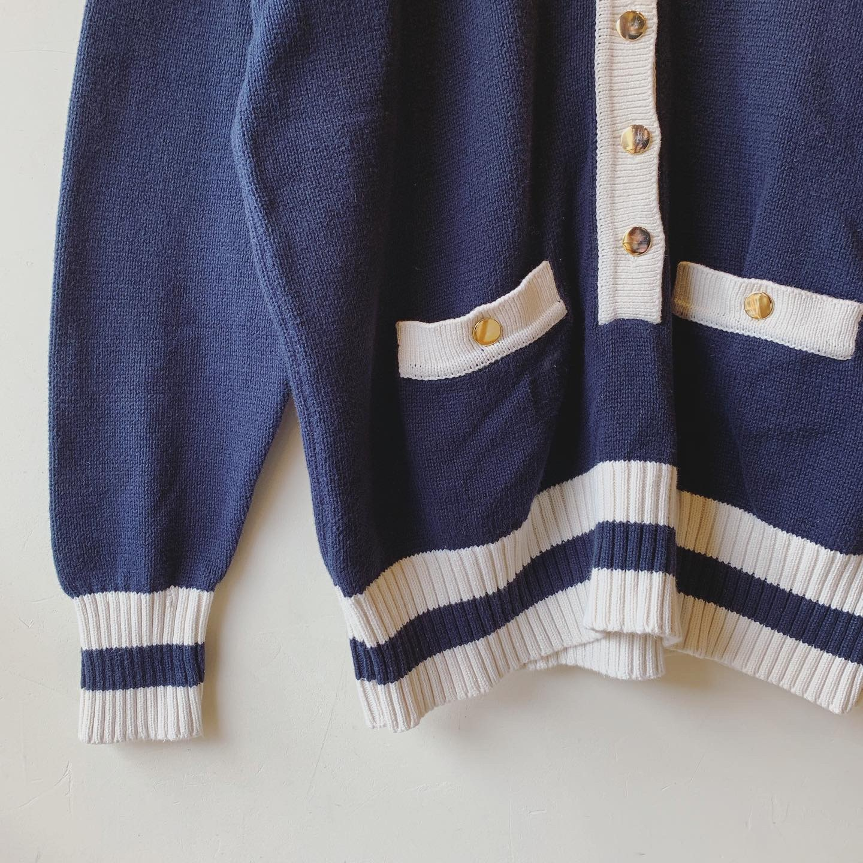vintage cotton knit tops