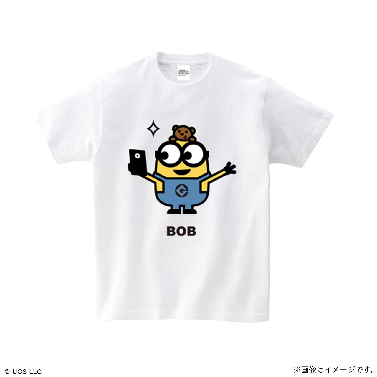 キッズTシャツ/ミニオン(ボブ ホワイト)【MINIONS POP UP STORE 限定】