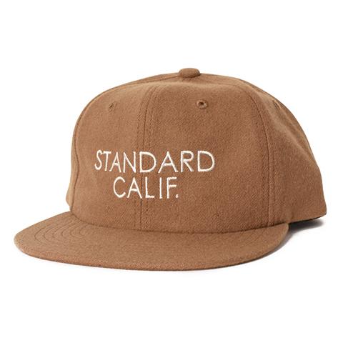 STANDARD CALIFORNIA #SD Logo Wool Cap Beige