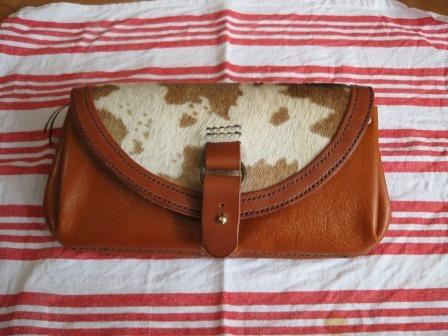 ハラコの長財布