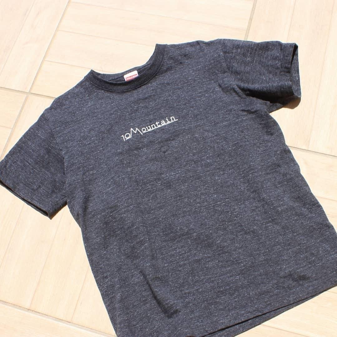 10Mountain シンプルロゴ ヘザーブラック