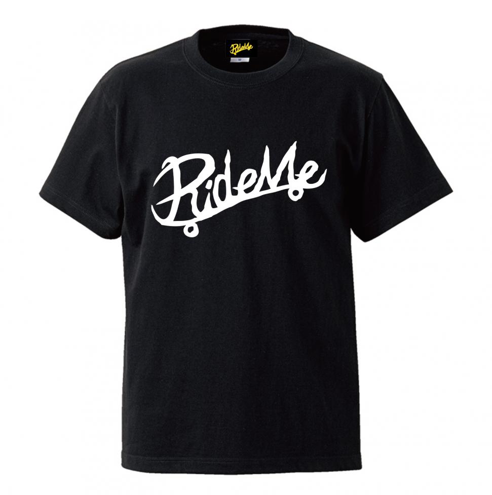 RideMe(ライドミー) | Symbol Logo Champion TEE / 6.0oz BLACK