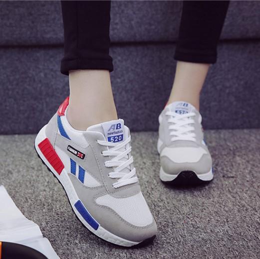 【shoes】カジュアル配色切り替えスニーカー22741288