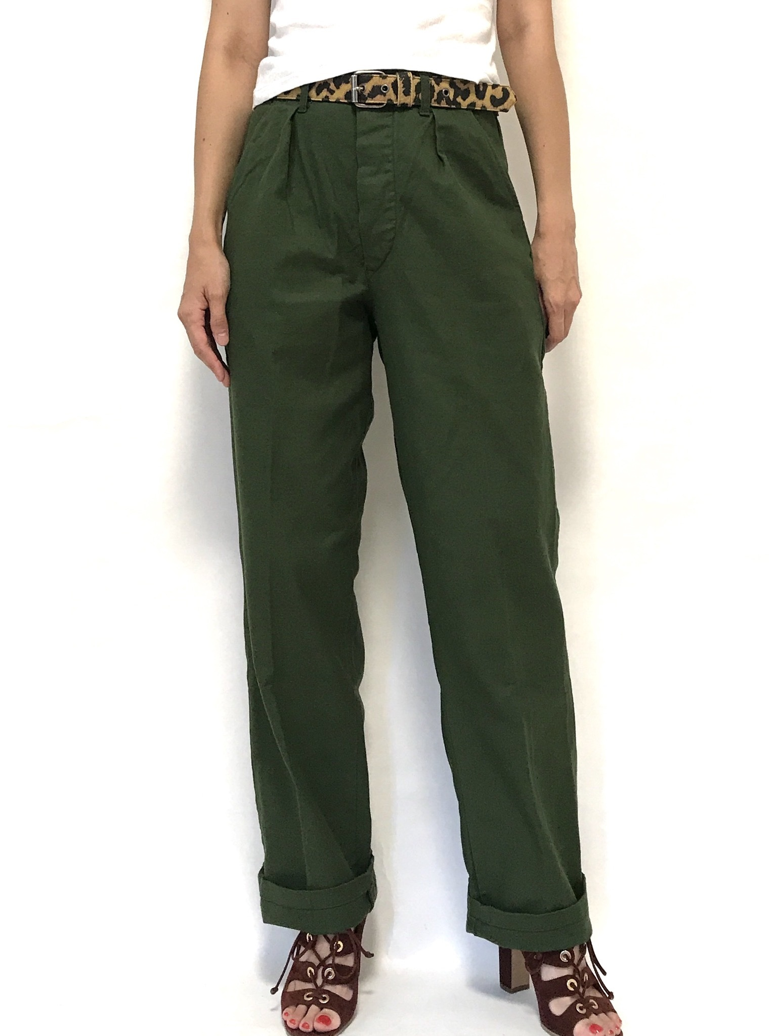 ⑤ 80's Swedish Army Utility Pants C44