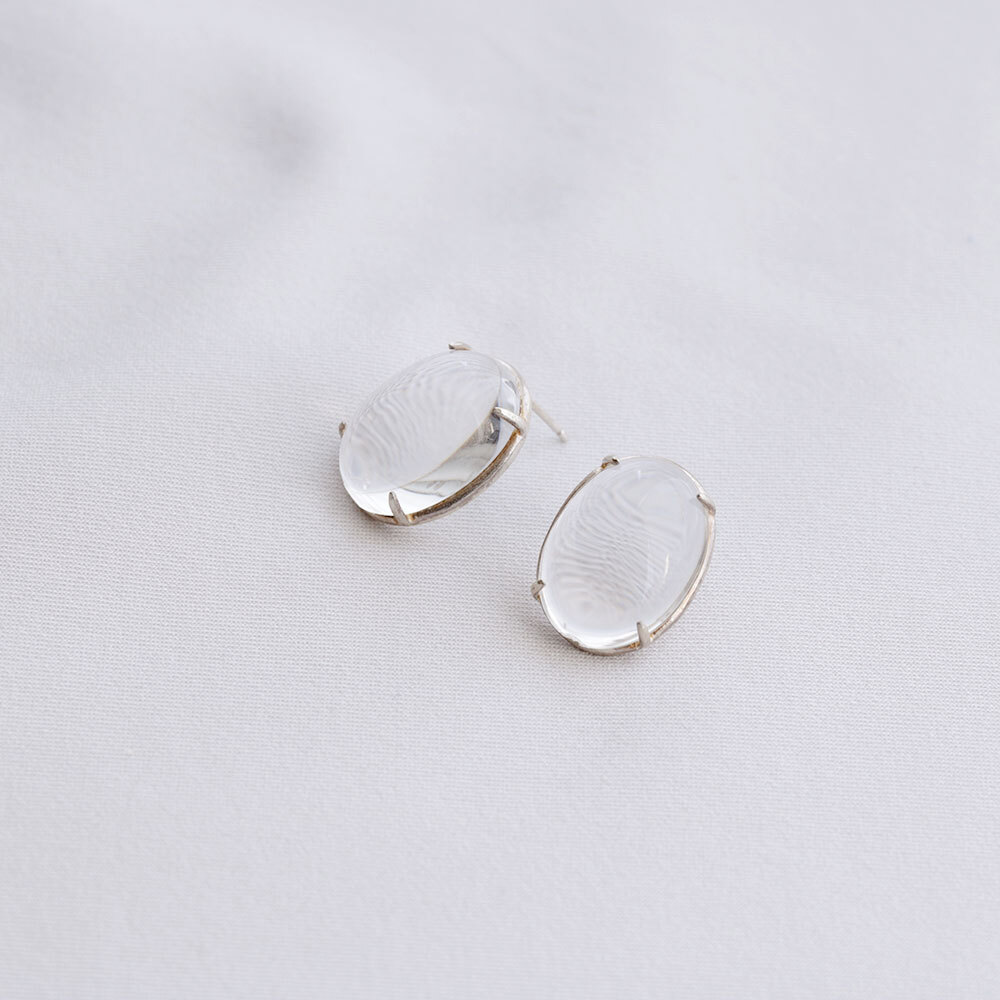 Sap/Ear - S <Silver> (pair)
