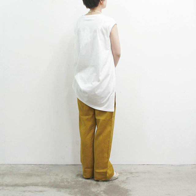 ichi イチ リネンワイドパンツ 【返品交換不可】 (品番la011)