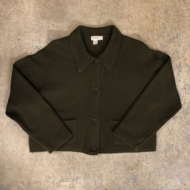 J Crew Khaki Wool Jacket