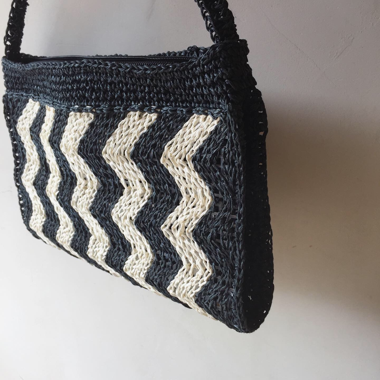 vintage summer hand bag