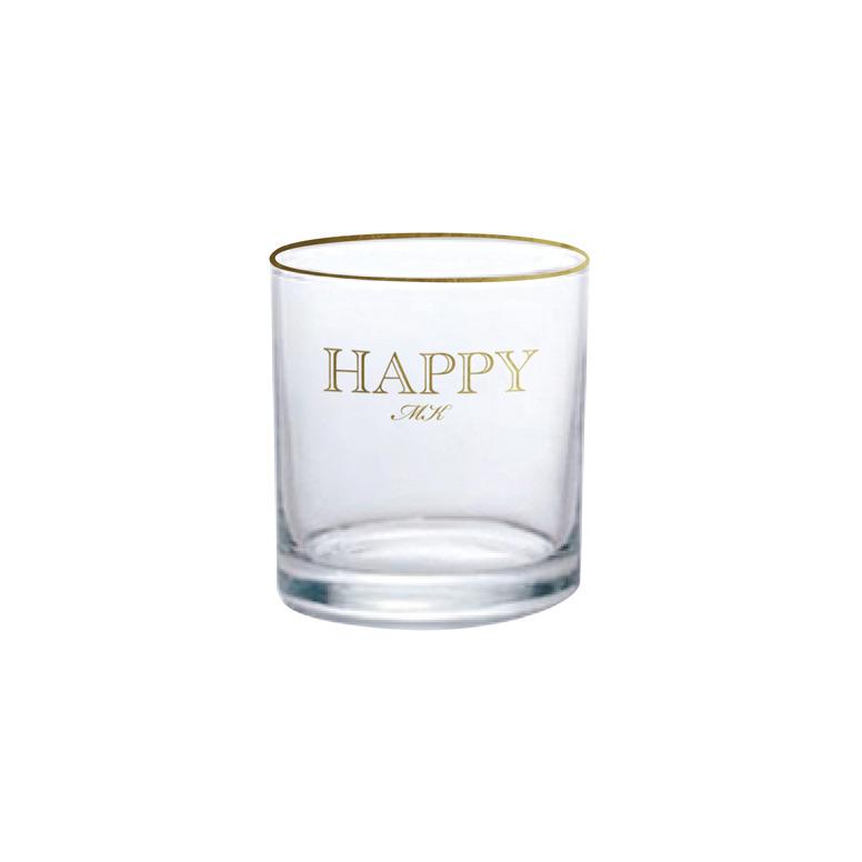 Classic Happy Glass