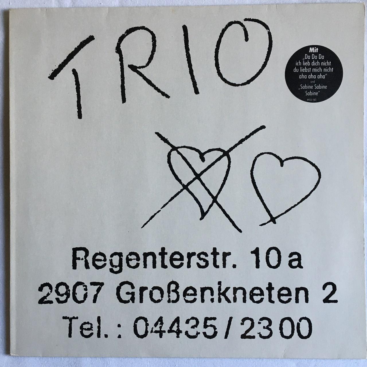 【LP・独盤】TRIO  /  TRIO