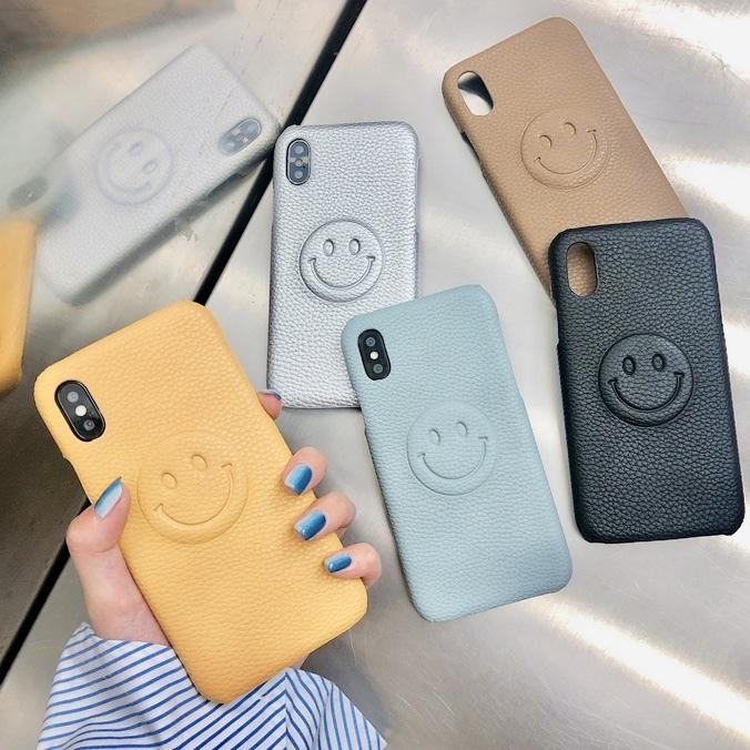 スマイル ニコちゃん iPhone case 【5色】