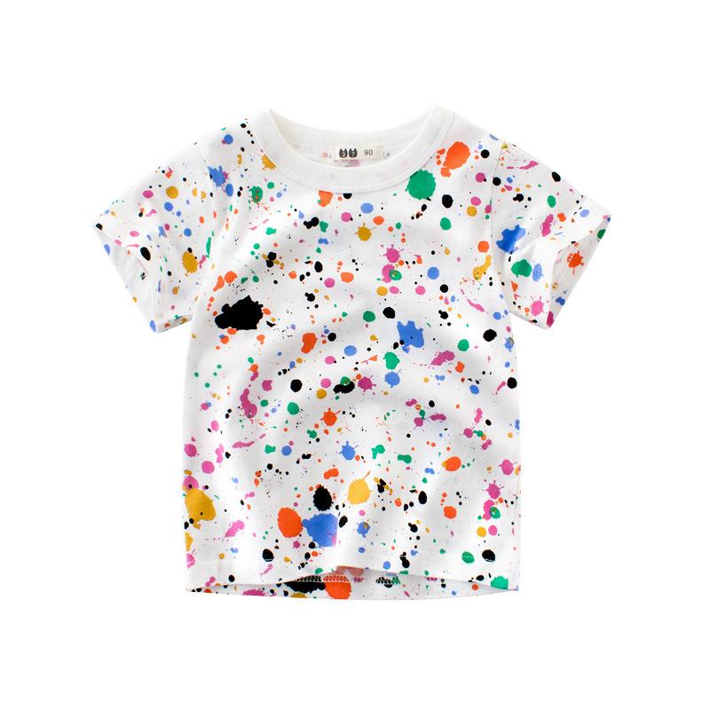 5a4823d8bacd0  一部即納 ペイントTシャツ ベビー服・子供服