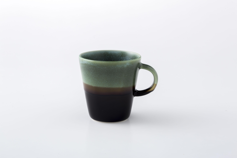 マグカップ:S (ブロンズ×黒天目) / 前野達郎