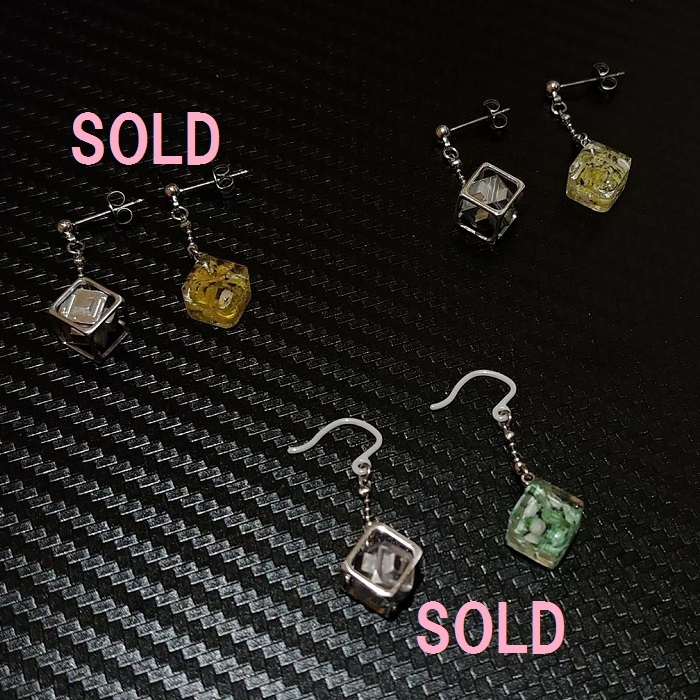 【Aquagarden×SMD Factoryコラボピアス】