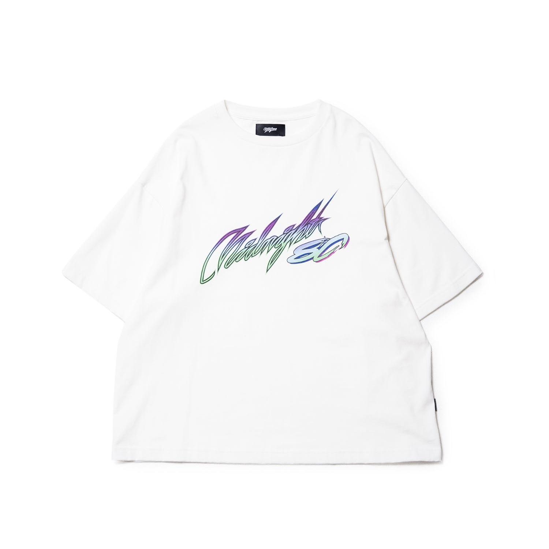 Midnight80 T-shirt / WHITE - 画像1