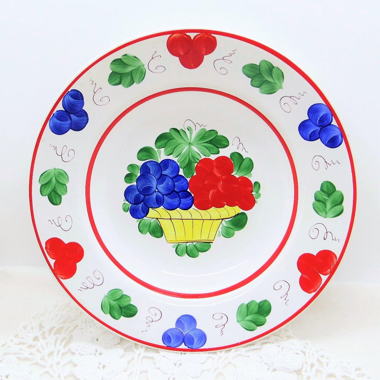 ハンガリーの飾り皿 ハンドペイント深皿②