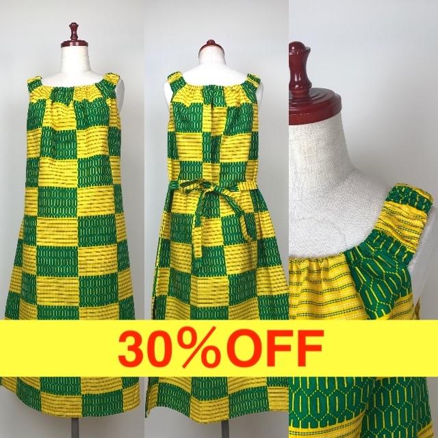 らくらくリゾートワンピース 17(日本縫製)【30%OFF】