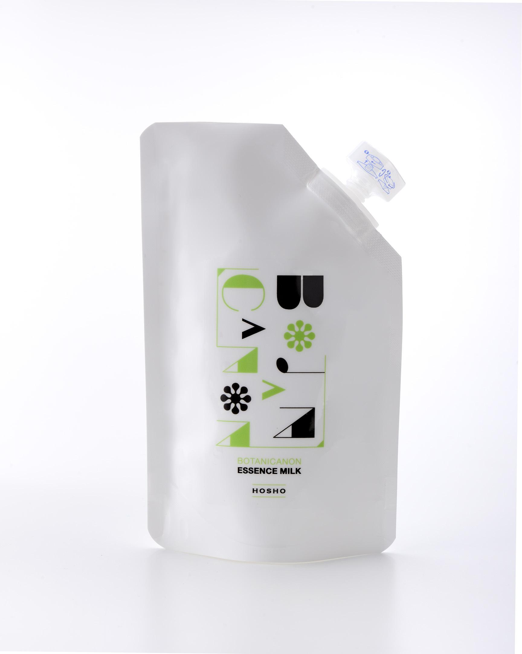 BOTANICANONハーバルエッセンスミルク(詰替用140ml)