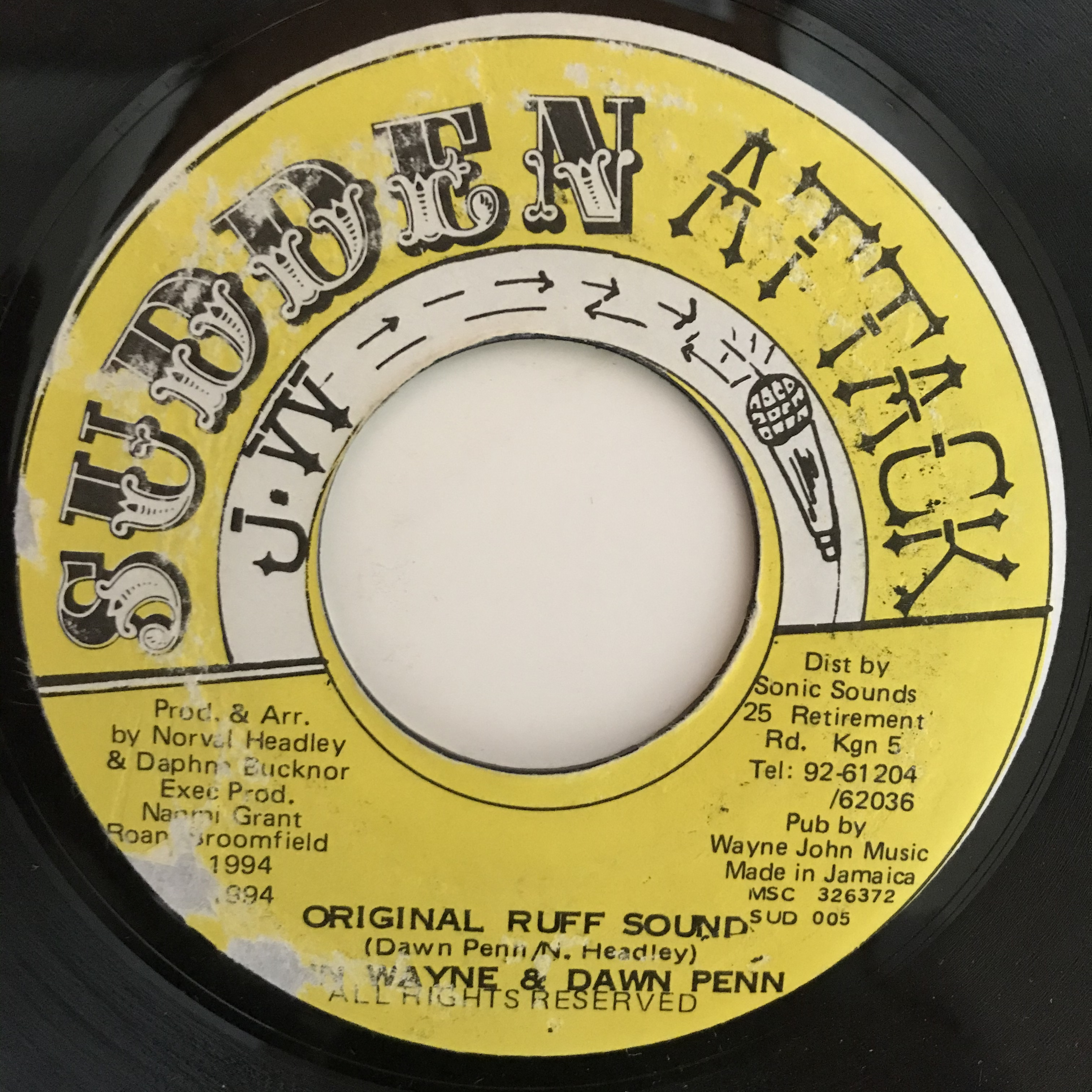 John Wayne & Dawn Penn - Original Ruff Sound【7-10870】