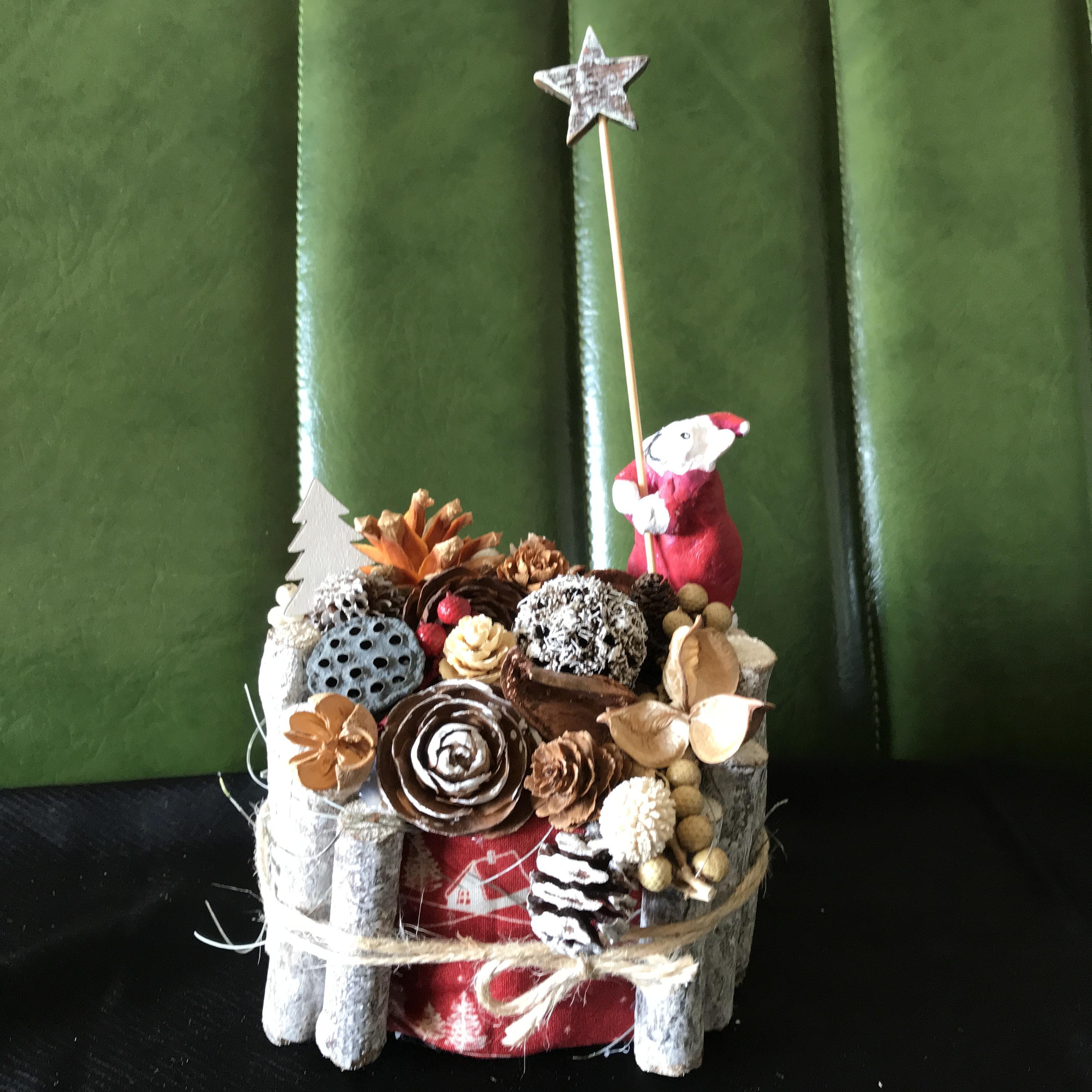 白樺の森のBUHIクリスマス(クリーム)