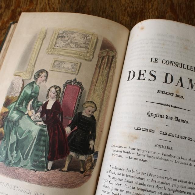 LE CONSEILLER DES DAMS 1848~1849 / vp0033