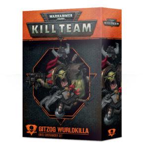 KILL TEAM COMMANDER: GITZOG WURLDKILLA 日本語版