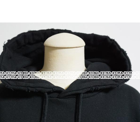 おしゃれな刺繍ロゴのフード付きオーバーサイズスウェット★  - 画像5