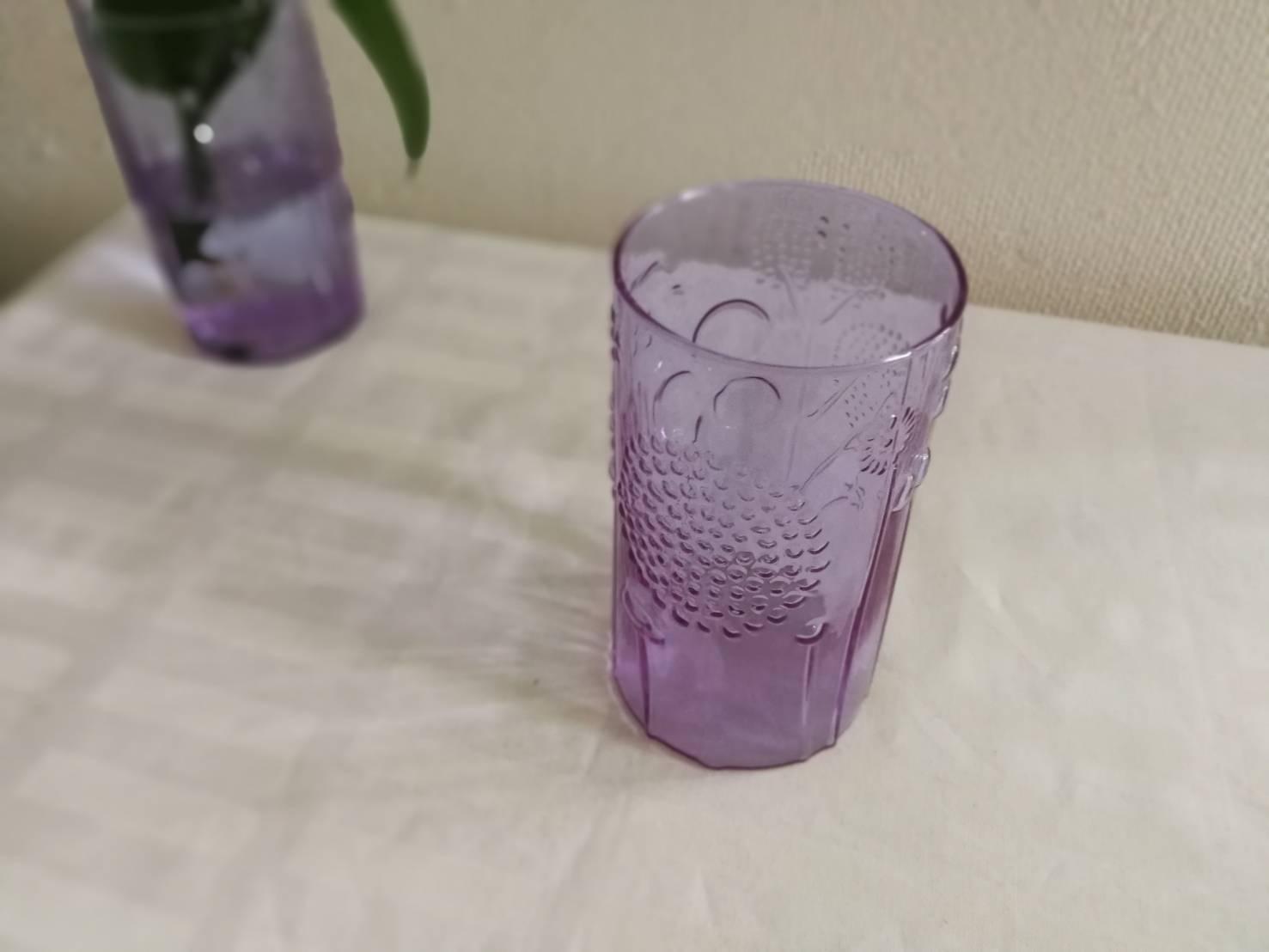 グラス / NUUTAJARVI  ヌータヤルヴィ / Flora フローラ (アメジスト)