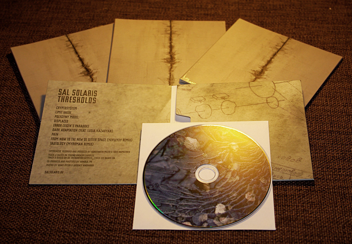 Sal Solaris - Thresholds CD - 画像2