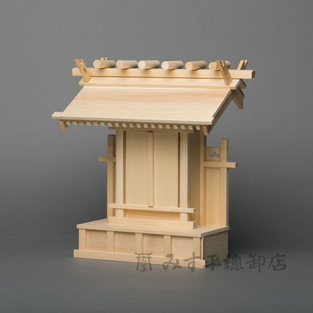 一社宮 両屋根 6寸 板戸
