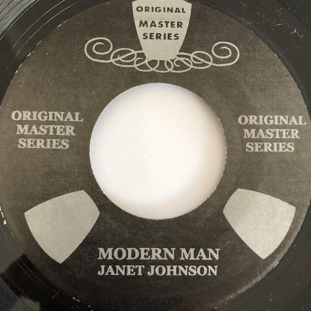 Janet Johnson(ジャネットジョンソン) - Modern Man【7'】