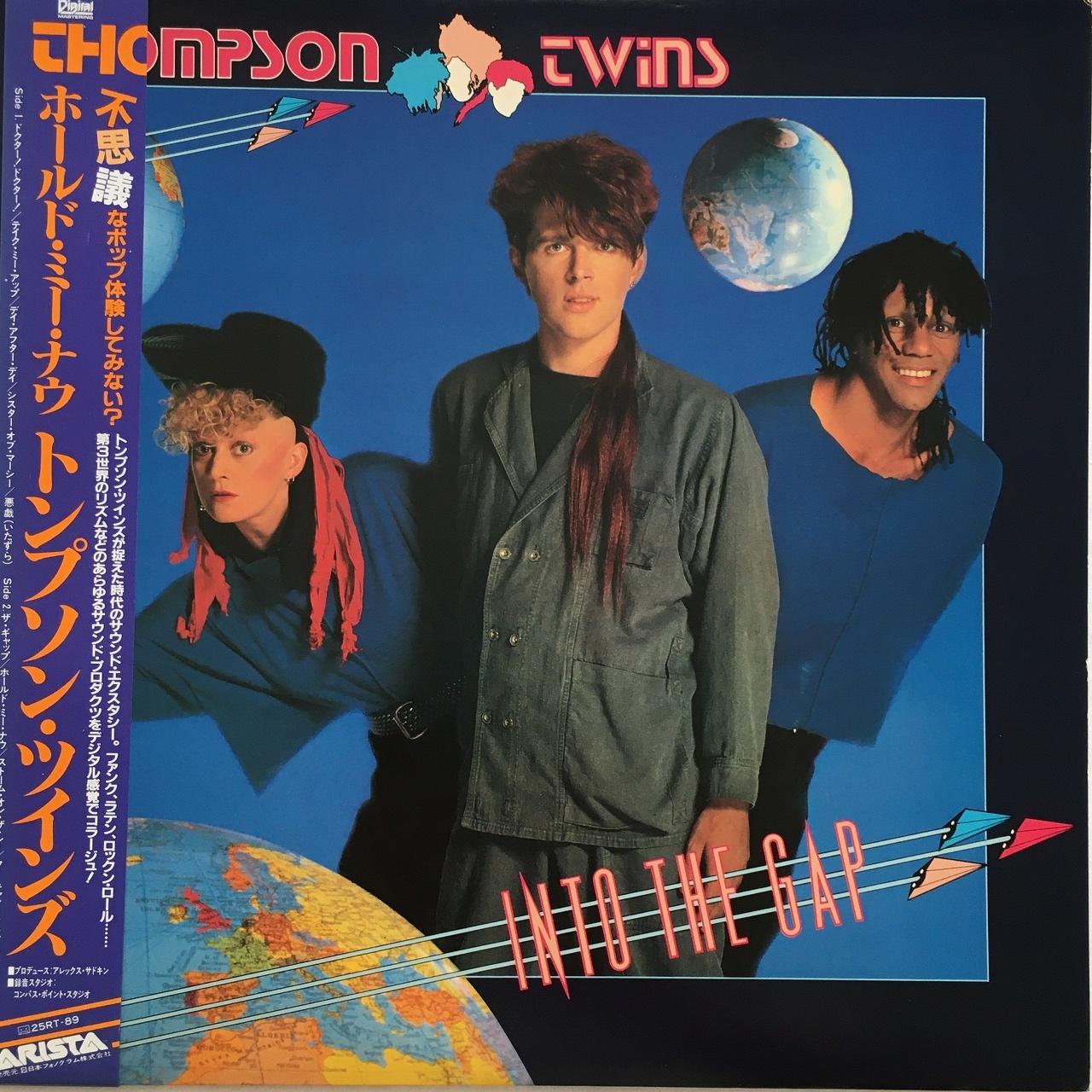 【LP・国内盤】トンプソン・ツインズ / ホールド・ミー・ナウ