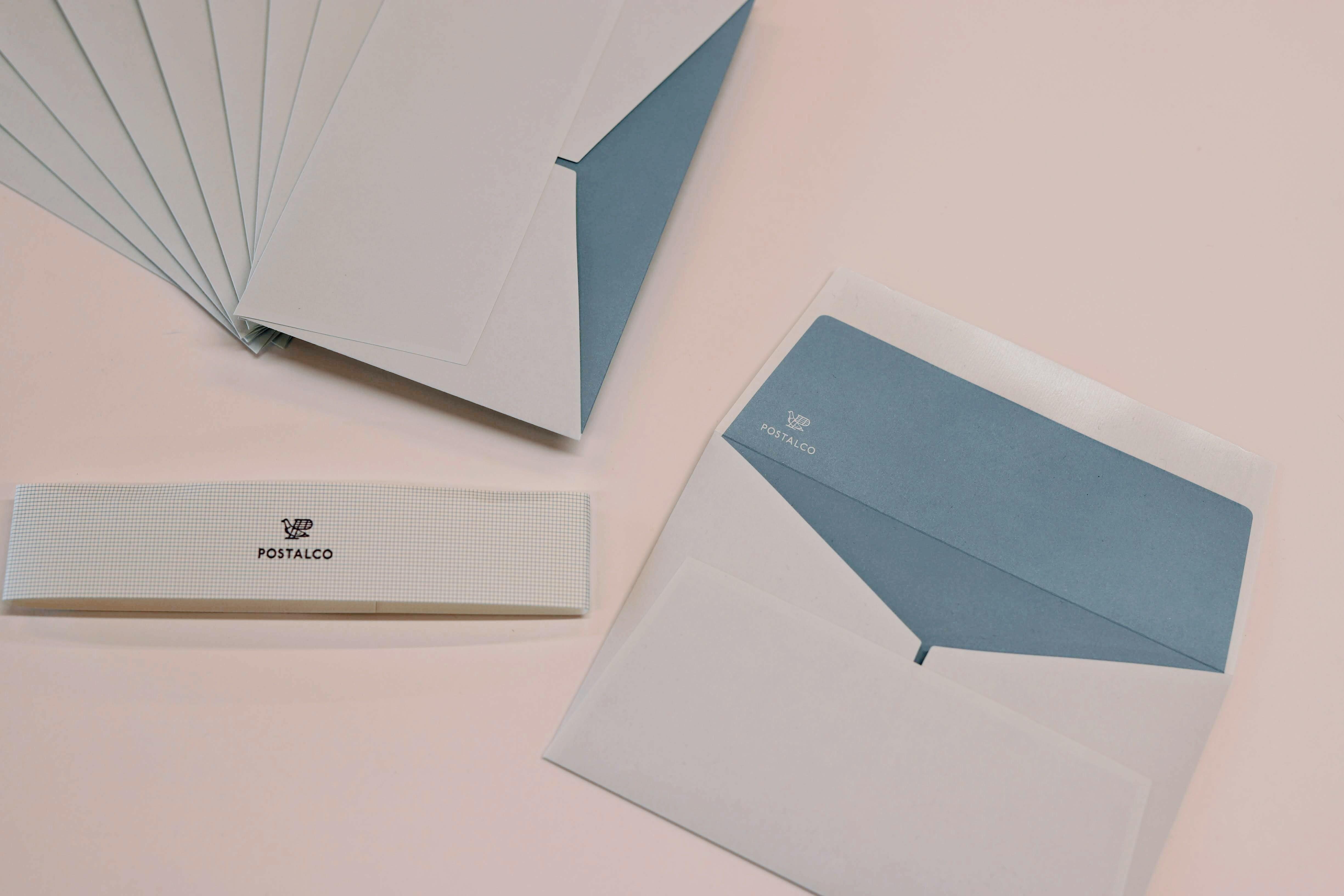 POSTALCO River Envelopes 10pcs