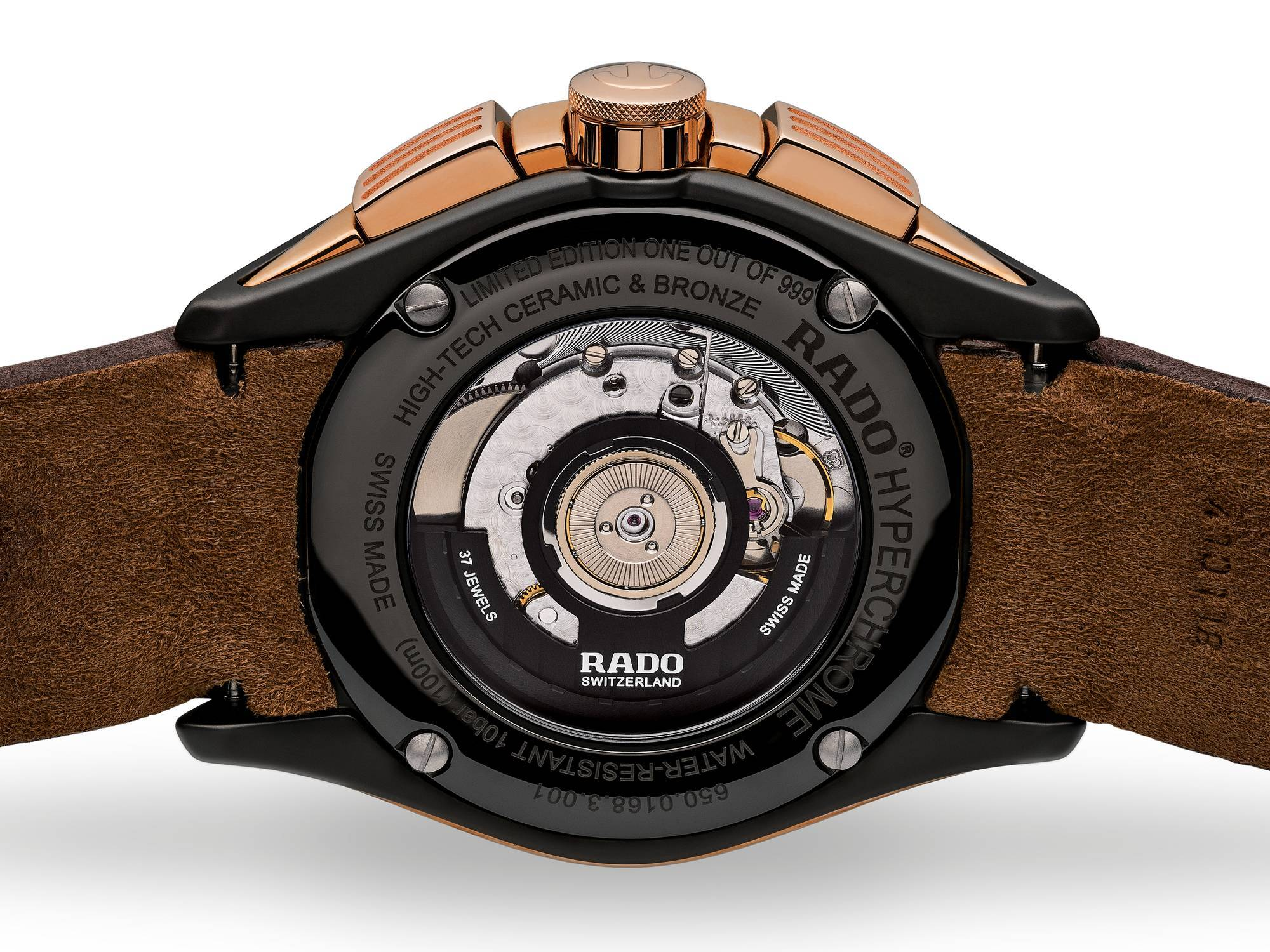 【RADO ラドー】Hyperchrome Automatic Chronograph ハイパークロームクロノグラフ(ブロンズ)999本限定品/正規輸入品